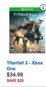 Titanfall 2 (Xbox One / PS4) w/ Coupon TITANFALLDEAL