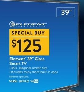 """Element 39"""" Class Smart TV"""