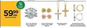 Forever 14K Gold Earrings