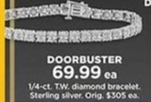 1/4-ct. Diamond Bracelet