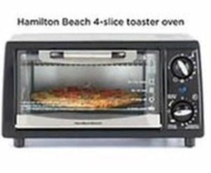 Hamilton Beach 4 Slice Toaster Oven (After $12 Mai In Rebate)