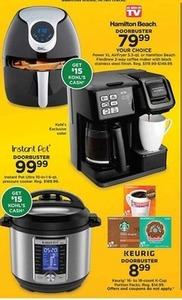 Instant Pot Ultra Pressure Cooker (Get $15 Kohl's Cash)