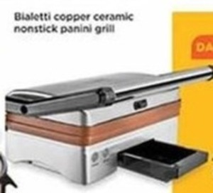 Bialetti Cooper Ceramic Nonstick Panini Grill After Rebate
