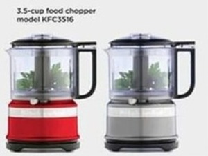 3.5 Cup Food Chopper model KFC3516