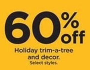 Holiday Trim-a-Tree and Decor