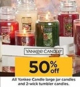 Yankee Candle Large Jar & 2-Wick Candles