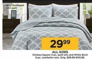 Chelsea Square 3-Piece Quilt Set