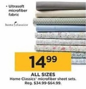 Home Classics Microfiber Sheet Sets (All Sizes)