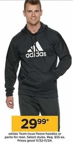 Men's Adidas Team Issue Fleece Hoodies