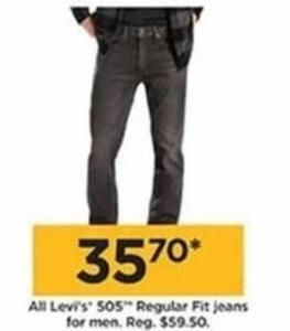All Levi's 505 Regular Fit Jeans for Men