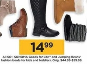 Sonoma Jumping Beans Fashion Boots