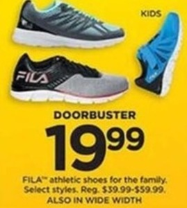 FILA Athletic Shoes for the Family