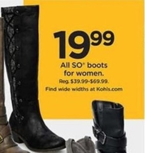 SO boots for Women