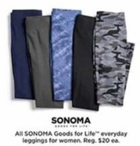 Women Sonoma Goods for Life Everyday Leggings