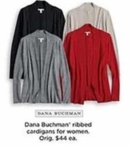 Dana Buchman Ribbed Cardigans - Kohls Cash