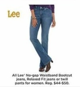 All Women's Lee Relaxed Fit Jeans - Kohls Cash