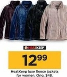 HeatKeep Luxe Fleece Jackets for Women