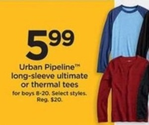 Urban Pipeline Long Sleeve Ultimate Boys Sizes 8-20 - Kohls Cash