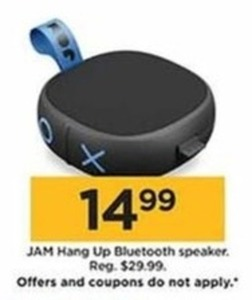 JAM Hang Up Bluetooth Speaker