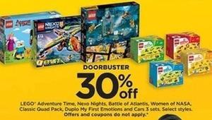 Select Lego Toys
