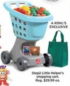 Step 2 Little Helper's Shopping Cart - Kohls Cash