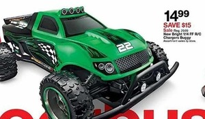 New Bright 1:14 FF R/C Charger Buggy