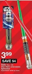 Star Wars Extendable Lightsaber