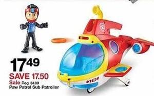 Paw Patrol Sub Patroller