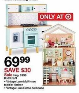 Kid Kraft Luxe Dottie Dollhouse