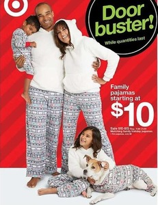 Matching Family Holiday Pajamas