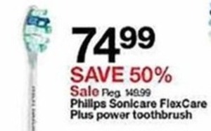 Phillips Sonicare FlexCare Plus Power Toothbrush