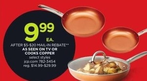 As Seen On TV or Cooks Copper