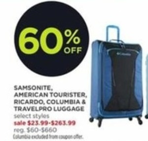 Select Luggage Brands