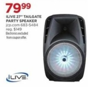 "iLive 27"" Tailgate Party Speaker"