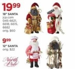 "North Pole 18"" Santa"