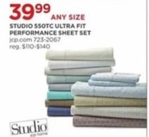 Studio 550TC Ultra Fit Performance Sheet Set