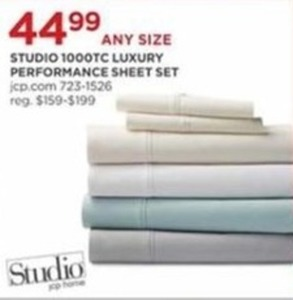 Studio 1000TC Luxury Performance Sheet Set