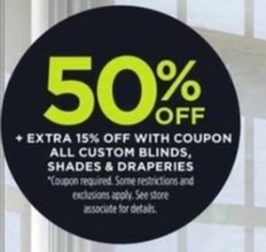 Custom Blinds, Shades, & Drapes w/ Coupon