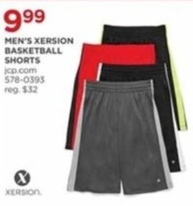Men's Xersion Basketball Short