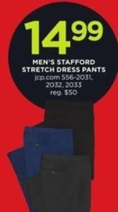 Men's Strafford Stretch Dress Pants