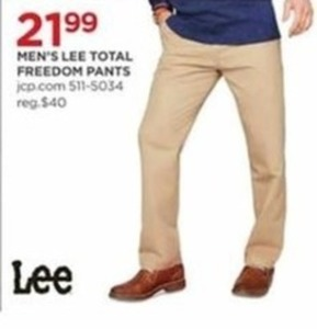 Men's Lee Total Freedom Pants