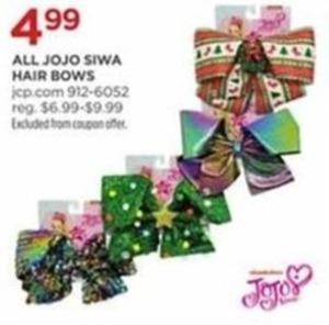 Jojo Siwa Hair Bows