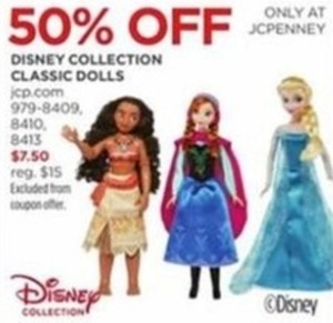Disney Collection Classic Dolls