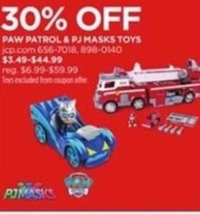 Paw Patrol & PJ Masks Toys