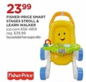 Fisher Price Smart Stages Stroll & Learn Walker