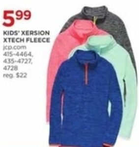 Kids Xersion Tech Fleece