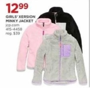 Girls' Xersion Minky Jacket