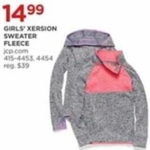 Girls' Xersion Sweater Fleece