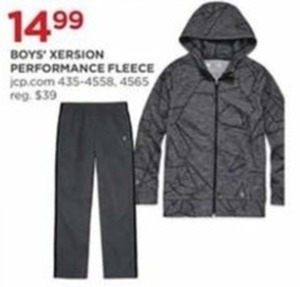 Boys' Xersion Performance Fleece