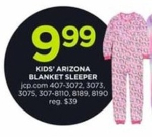 Kids' Arizona Blanket Sleeper
